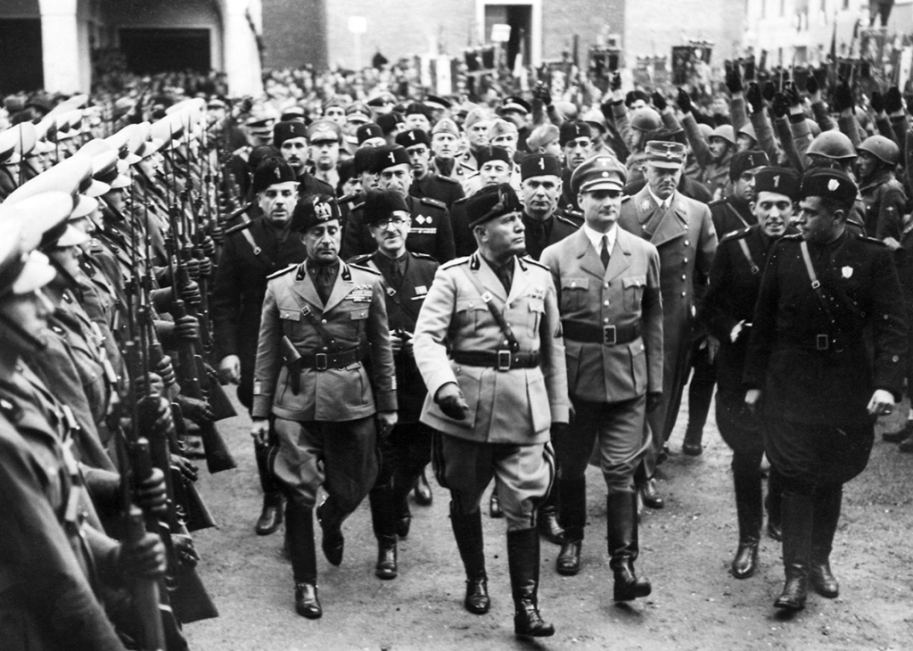 benito mussolini thesis Research question: how did economic and political dissatisfactions among the italian people after world war 1 give way to the rise of fascism and mussolini as a leader in italy.